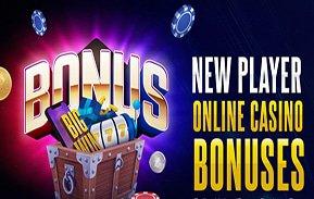 New Player Bonuses no deposit